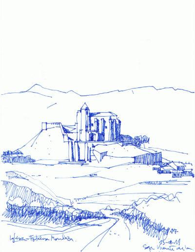 Iglesia - Fortaleza Mendoza